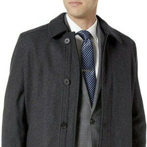 New Ike Behar Mens Seville Quilted Lining Wool Jac
